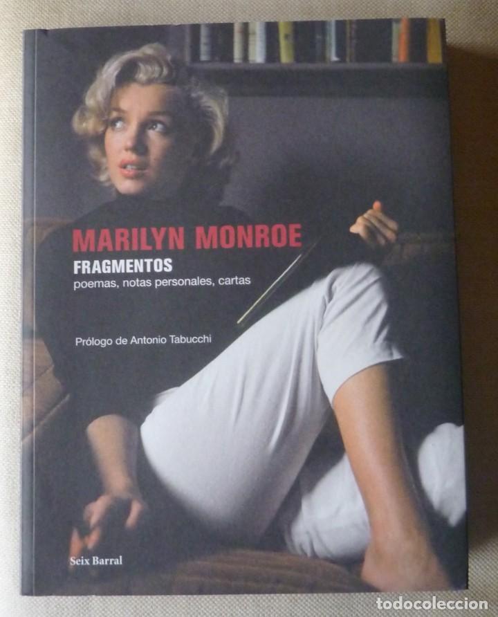 MARILYN MONROE. FRAGMENTOS. POEMAS. NOTAS PERSONALES. CARTAS. CINE. (Libros de Segunda Mano - Bellas artes, ocio y coleccionismo - Cine)