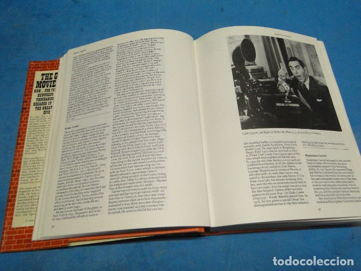 Libros de segunda mano: The Great Movie Stars. The Golden Years.- SHIPMAN, David (1ªedi.1970) - Foto 4 - 137116606