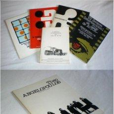 Libros de segunda mano: LOTE FILMOTECA NACIONAL ESPAÑA. SEMANA INTERNACIONAL CINE AUTOR BANALMADENA. THEO ANGELOPOULOS. Lote 134834022