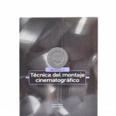 Libros de segunda mano: TÉCNICA DEL MONTAJE CINEMATOGRÁFICO - REISZ, KAREL / MILLAR, GAVIN. Lote 138795972