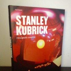 Libros de segunda mano: STANLEY KUBRICK. FILMOGRAFÍA COMPLETA. PAUL DUNCAN. TASCHEN.. Lote 138946864