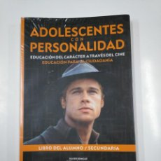 Libros de segunda mano: ADOLESCENTES CON PERSONALIDAD. EDUCACION DEL CARACTER A TRAVES DEL CINE. VV.AA. TDK85. Lote 139449706