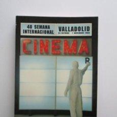 Libros de segunda mano: 48 SEMINCI, CATALOGO SEMANA INTERNACIONAL DE CINE DE VALLADOLID, 2003, 246 PÁGINAS. Lote 139702946