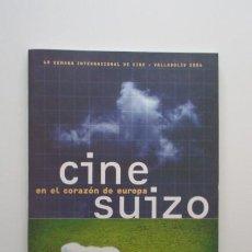 Libros de segunda mano: SEMINCI, 49 SEMANA INTERNACIONAL DE CINE VALLADOLID 2004, CINE SUIZO, IMPECABLE. Lote 139715054