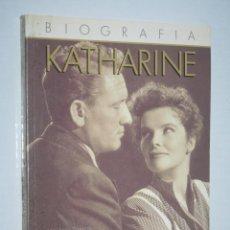 Libros de segunda mano: KATHARINE HEPBURN (2ª PARTE) *** LIBRO BIOGRAFIA ACTRIZ CINE *** ULTRAMAR EDITORES (1988). Lote 139791510