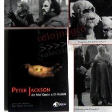Libros de segunda mano: PETER JACKSON DE MAL GUSTO A EL HOBBIT LIBRO CINE SOBRE DIRECTOR D PELÍCULA SEÑOR D LOS ANILLOS FOTO. Lote 140561638
