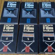 Libros de segunda mano: 6 TOMOS COMPLETA DE LA A A LA Z // RORORO FILM LEXIKON // REGISSEURE, SCHAUSPIELER, KAMERALEULE .... Lote 140649682