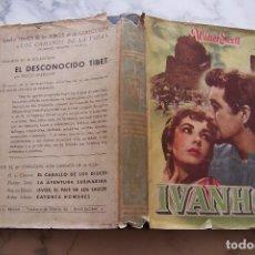 Libros de segunda mano: IVANHOE. WALTER SCOTT. AYMA EDITORES, 1952.. Lote 140765154