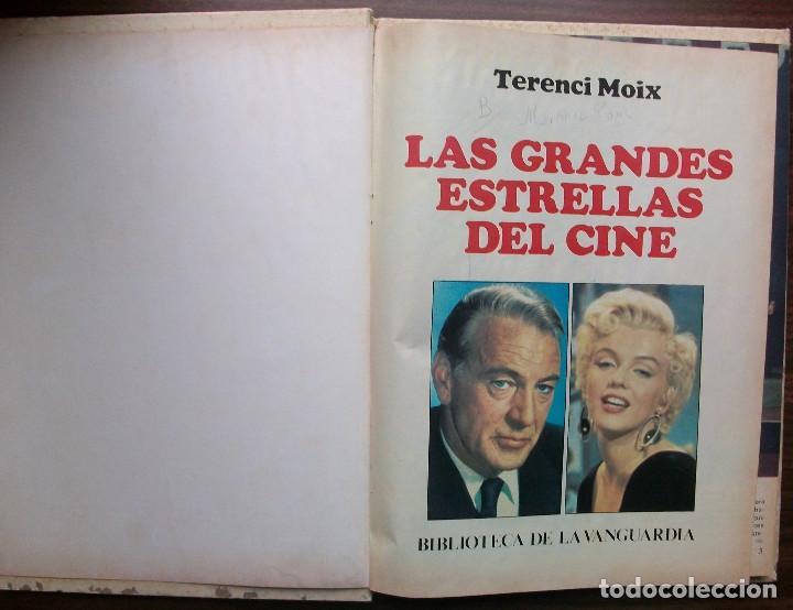 LAS GRANDES ESTRELLAS DEL CINE. TERENCI MOIX (Libros de Segunda Mano - Bellas artes, ocio y coleccionismo - Cine)