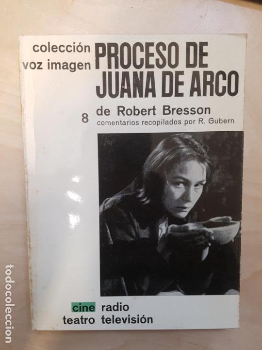 CINE COLECCIÓN VOZ IMAGEN. PROCESO DE JUANA DE ARCO. ROBERT BRESSON (Libros de Segunda Mano - Bellas artes, ocio y coleccionismo - Cine)