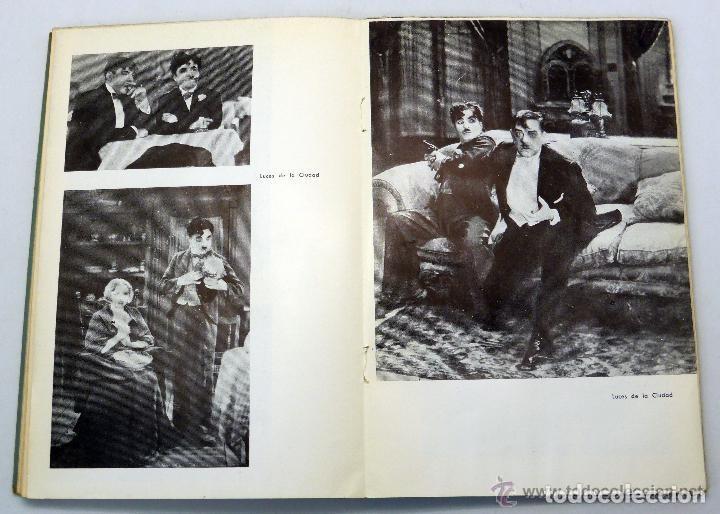Libros de segunda mano: Eisenstein, Bleiman y Kosinev. El Arte de Charles Chaplin. Buenos Aires, 1956. - Foto 3 - 141590902