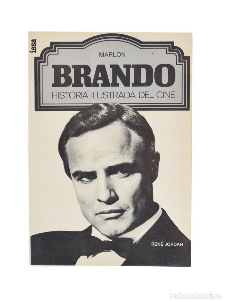 MARLON BRANDO - JORDAN, RENÉ (Libros de Segunda Mano - Bellas artes, ocio y coleccionismo - Cine)
