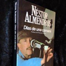 Libros de segunda mano: DIAS DE UNA CAMARA - NESTOR ALMENDROS - SEIX BARRAL - ILUSTRADO. Lote 141899498