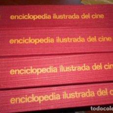 Libros de segunda mano: ENCICLOPEDIA ILUSTRADA DEL CINE 4 TOMOS / ED.LABOR. Lote 142138562