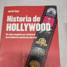 Libros de segunda mano: JOEL W.FINLER HISTORIA DE HOLLYWOOD AÑO 2003 ILUSTRADO 478 PAGINAS. Lote 142333626