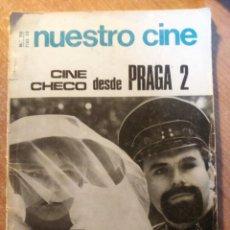 Libros de segunda mano: NUESTRO CINE Nº 70, CINE CHECO DESDE PRAGA 2, 1968. Lote 142406142