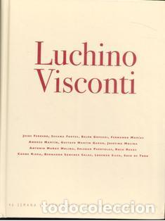 LUCHINO VISCONTI. 46 SEMANA INTERNACIONAL DE CINE DE VALLADOLID (Libros de Segunda Mano - Bellas artes, ocio y coleccionismo - Cine)