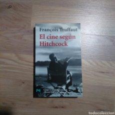 Libros de segunda mano: EL CINE SEGÚN HITCHCOCK. FRANÇOIS TRUFFAUT.. Lote 143288832
