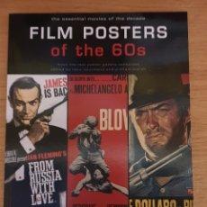 Libros de segunda mano: LIBRO FILM POSTERS OF THE 60S - TASCHEN, 1997 - 128PP. - NUEVO. Lote 143325590