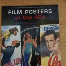 Libros de segunda mano: LIBRO FILM POSTERS OF THE 40S - TASCHEN, 1997 - 128PP. - NUEVO. Lote 143326000