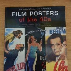 Libros de segunda mano: LIBRO FILM POSTERS OF THE 40S - TASCHEN, 1997 - 128PP. - NUEVO. Lote 143326054