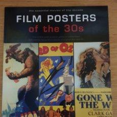 Libros de segunda mano: LIBRO FILM POSTERS OF THE 30S - TASCHEN, 1997 - 128PP. - NUEVO. Lote 143326184