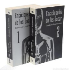 Libros de segunda mano: ENCICLOPEDIA DE LOS OSCAR I-II (EDICIÓN COMPLETA EN 2 TOMOS) - XALABARDER, CONRADO - MUY BUEN ESTADO. Lote 143588446