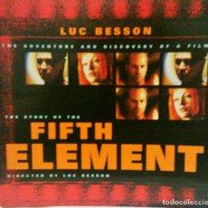 Livros em segunda mão: THE STORY OF THE FIFTH ELEMENT. DIRECTED BY LUC BESSON - TITAN BOOKS. Lote 143632010