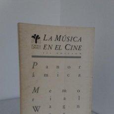 Libros de segunda mano: JOAN PADROL / ÁLVARO DEL AMO - LA MÚSICA EN EL CINE - FILMOTECA CANARIA, 1989 - ILUSTRADO. Lote 143810026