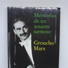 Libros de segunda mano: LIBRO DE CINE - MEMORIAS DE UN AMANTE SARNOSO - GROUXO MARX - POCKET EDHASA. Lote 143986842