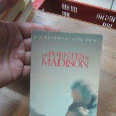 Libros de segunda mano: LIBRO LOS PUENTES DE MADISON ROBERT JAMES WALLER 1996 ED. B L-10257-363. Lote 144243670