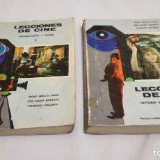 Libros de segunda mano: LECCIONES DE CINE/ T 1 INTRODUCCION Y TEORIA/ T 2 HISTORIA ESTETICA Y SOCIOLOGIA/ HECHOS DI. Lote 145520306