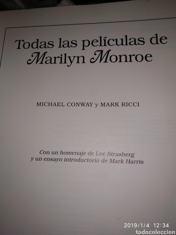 Libros de segunda mano: Todas las películas de Marilyn Monroe - Foto 3 - 145703084