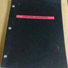 Libros de segunda mano: OXFORD MURDERS. GUIÓN EN INGLÉS. JORGE GUERRICAECHEVARRÍA Y ALEX DE LA IGLESIA. Lote 146003130