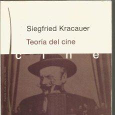 Libros de segunda mano: SIEGFRIED KRACAUER. TEORIA DEL CINE. LA REDENCION DE LA REALIDAD FISICA. PAIDOS. Lote 146586582