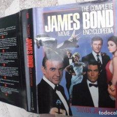 Libros de segunda mano: THE COMPLETE JAMES BOND MOVIE ENCYCLOPEDIA, STEVEN JAY RUBIN,CONTEMPORARY BOOKS, ILUSTRADO. Lote 147629346