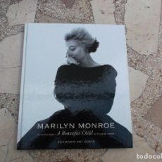 Libros de segunda mano: MARILYN MONROE,EN INGLES A BEAUTIFUL CHILD BY THUMAN CAPOTE, SCHIRMER ART BOOKS ,FOTOS GRAN CALIDAD. Lote 147634894
