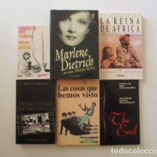 Libros de segunda mano: LOTE DE 11 LIBROS SOBRE CINE, CINEFILIA, TÉCNICA CINEMATOGRÁFICA, ETC. VER FOTOS ADICIONALES . Lote 147999886
