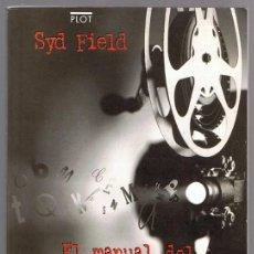 Libros de segunda mano: EL MANUAL DEL GUIONISTA SYD FIELD . Lote 148465694