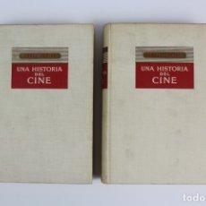Libros de segunda mano: L- 4836. UNA HISTORIA DEL CINE, ANGEL ZUÑIGA. EDITORIAL DESTINO, AÑO 1948. 2 TOMOS.. Lote 148776854