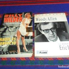 Libros de segunda mano: BILLY WILDER, NADIE ES PERFECTO, HELLMUTH KARASEK Y WOODY ALLEN, LA BIOGRAFÍA, ERIC LAX. BUEN ESTADO. Lote 148819334