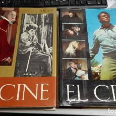 Libros de segunda mano: EL CINE, DESDE LUMIERE HASTA EL CINERAMA / 2 TOMOS / EDITORIAL ARGOS 1965-1966. Lote 148832806