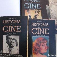 Libros de segunda mano: LA GRAN HISTORIA DEL CINE DE TERENCI MOIX ,ABC,2 TOMOS DE HISTORIA,1 DE CINE MODERNO Y ESPAÑOL. Lote 149302518