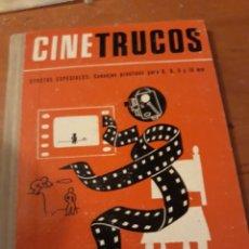 Libros de segunda mano: CINE TRUCOS-EFECTOS ESPECIALES-CINE LIBRO. Lote 149731545