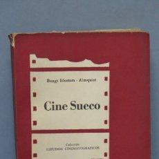 Libros de segunda mano: CINE SUECO. BENGT IDESTAM. ALMQUIST. ED. BUENOS AIRES. Lote 149785018