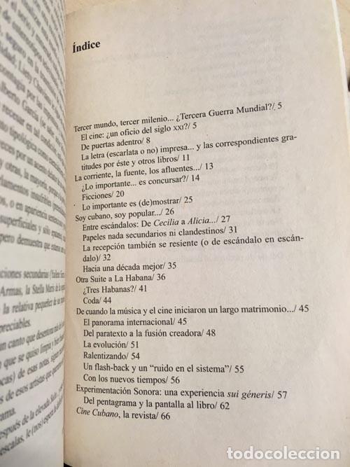 Libros de segunda mano: Frank Padrón. Sinfonía inconclusa para cine cubano - Foto 2 - 149849150