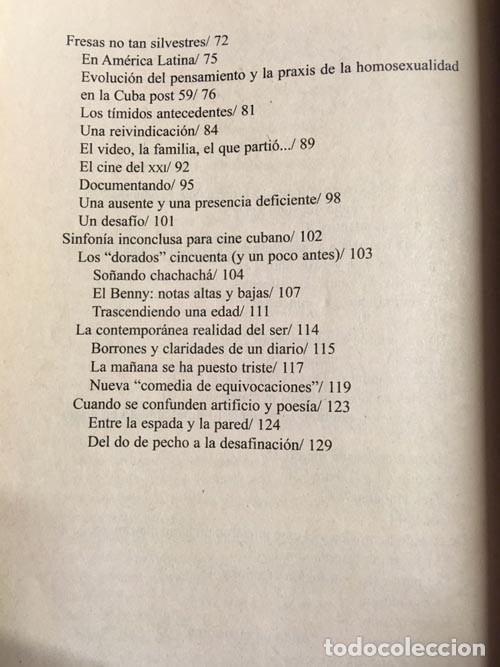 Libros de segunda mano: Frank Padrón. Sinfonía inconclusa para cine cubano - Foto 3 - 149849150