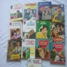 Libros de segunda mano: NOVELAS DE LA COLECCIÓN ALONDRA AMAPOLA ROSAURA ORQUIDEA..... Lote 151220220
