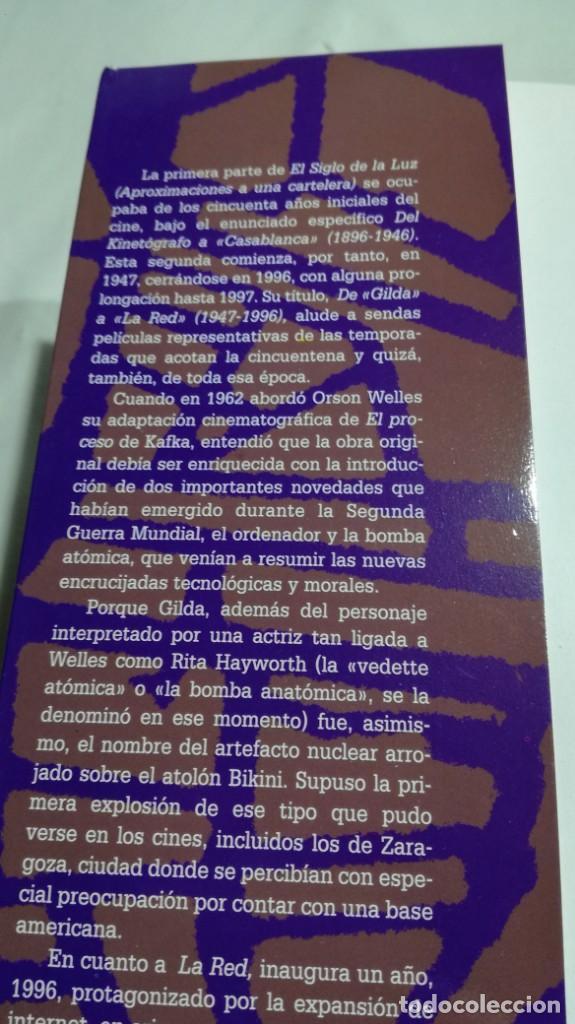 Libros de segunda mano: EL SIGLO DE LA LUZ/ APROXIMACIONES A UNA CARTELERA/ AGUSTIN SANCHEZ VIDAL/ II DE GILDA A LA - Foto 5 - 151577634