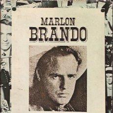 Libros de segunda mano: LIBRO DE CINE MARLON BRANDO UN ARTISTA REBELDE BOB THOMAS BIOGRAFIA. Lote 151592722